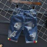 Крутые шорты джинс р. 100