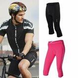 Мужские и женские велошорты велокапри, вело шорты капри Crivit Германия