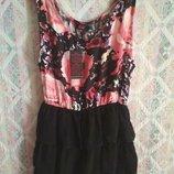 Платье сарафан цветочный принт Motel