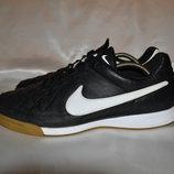 кожаные спортзалки Nike tiempo, р. 45
