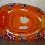 Надувной круг-лодка для малышей