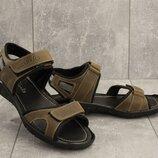 Мужские сандалии Clarks, натуральная кожа, код gavk-310