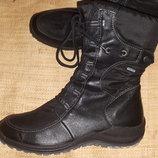 4р-24.3 стелька зима ботинки на меху Legero GoreTex состояние новых ширина стельки 8.5 высота от пол