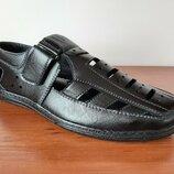 Мужские босоножки сандалии черные