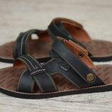 Мужские кожаные сандалии, босоножки Bonis 25 чер