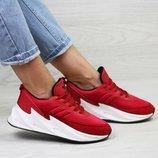 Кроссовки женские Adidas Sharks red