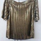 Блуза золото