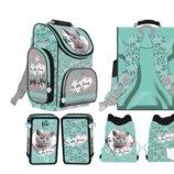 Школьний ранец, пенал, сумка для обуви St Majewski с котиком