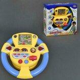 Руль музыкальный Капитан автотренажер 7391 Play Smart
