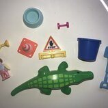 Playmobil крокодил запчасти детали человечек ребенок