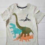 Футболка на мальчика с динозавром C&A Palomino Размер 116 Оригинал