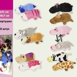 Мягкая игрушка-вывернушка CLR144 144шт 9 видов, 15см в пакете, цена за 1 шт, вывертушка