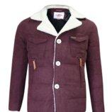 Куртки m-l-xl фирменные lee cooper sherpa