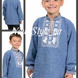 32-42, Вышиванка на мальчика. Вишиванка на хлопчика. Детская рубашка- вышиванка