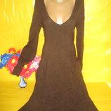 Очень красивое женское теплое платье Zara Зара рр л