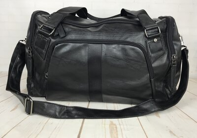 Мужская дорожная сумка. Сумка для поездок. Черная Ксд5-1