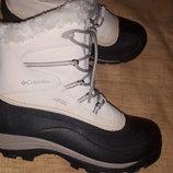 41р-27.5 ботинки зима Columbia water resistent на широкую стелька вынимается 27.5 вся ширина стельки