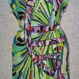 Яркое летнее платье от бренда Louis Feraud.Оригинал