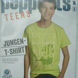 -Новая футболка Pepperts, р.134/140, на мальчика на 8-10 лет