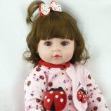 Кукла Мария, реборн, 58 см, мягконабивная. Мечта любого ребёнка