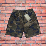 Стильные камуфляжные шорты для мальчика р. 110-160. Венгрия