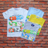 Стильная футболка для мальчика р. 98-128. Венгрия
