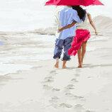 Картина По Номерам. BRUSHME Романтика На Пляже GX23590