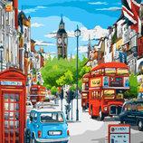 Картина По Номерам. BRUSHME Лондонский Полдень GX8969