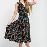 Платье А-Силуэта без рукавов Иванна Leo