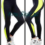Спортивные штаны, Трикотажные спортивные лосины , леггинсы. Женские лосины, Жіночі спортивні штани