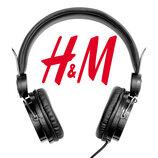 Стильні навушники для гаджетів від фірми H&M Швеція