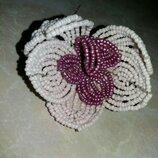 Квітка з бісеру handmade