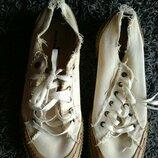 Кроссовки кеды RockWood 12 44 45 46 размер 29 см тканевые мокасины мужские