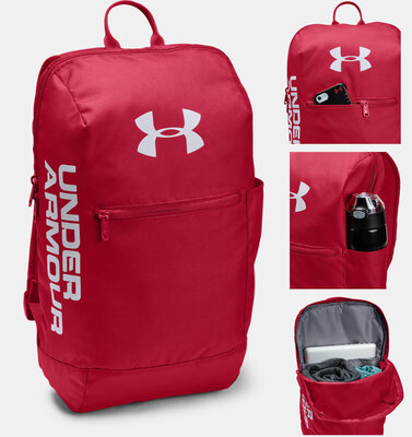 Рюкзак Under Armour UA Patterson Backpack Red Оригинал Красный цвет