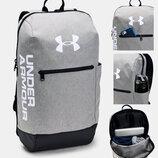 Рюкзак Under Armour UA Patterson Backpack Оригинал Графитовый серый цвет