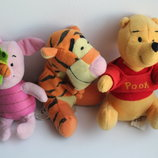 Мягкие игрушки из мультфильма Винни Пух Дисней