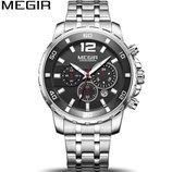 Мужские наручные классические часы Megir 2068 / Гарантия / Чоловічий класичний годинник