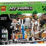 Конструктор 10179 / 79074 шахта Minecraft, Майнкрафт Bela Бела