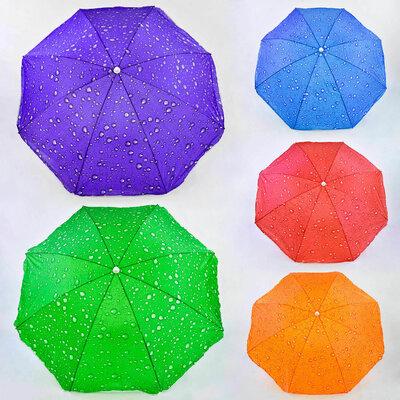Большой пляжный зонт зонтик 150 см диаметр 180 см высоты 1395