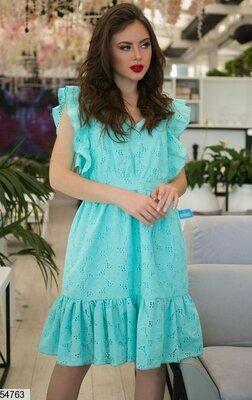 2841bed9f25 Женское летнее платье из батистовой ткани с прошвой скл.1 арт.54763 ...