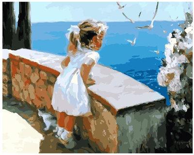 Картина По Номерам. BRUSHME Ласковое Море GX8102