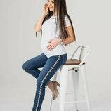 Джинсы-Скинни для беременных 4044426-11
