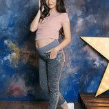 Джинсы для беременных черные 1225434-7