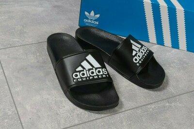 Продано: Шлепанцы мужские Adidas Equipment, черные