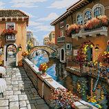 Картина По Номерам. BRUSHME Дворик В Венеции GX8518