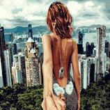 Картина По Номерам. BRUSHME Следуй За Мной. Сингапур GX22061