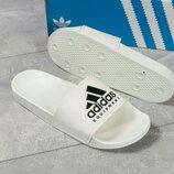 Шлепанцы мужские Adidas, белые