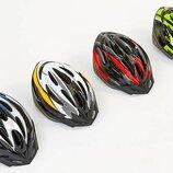 Велошлем кросс-кантри с механизмом регулировки HB13 размер 55-61см 4 цвета