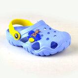Кроксы Jose amorales 117074 голубые 20-26