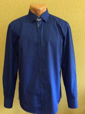 Мужская рубашка BOSS HUGO BOSS slim fit оригинал р 39 15 1/2 M